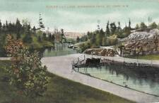 Antique POSTCARD c1909 Outlet Lily Lake Rockwood Park ST. JOHN, NB 17547