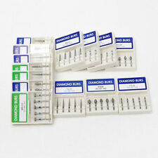 200 Dental Frese Diamantate Per Turbina Fresas de Diamante High Speed  Burs