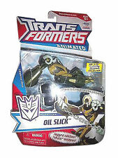Transformers Animated OIL SLICK Deluxe Class MOSC New Factory Sealed!