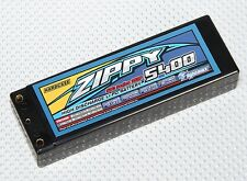 Zippy Lipo RC Car Battery Hardcase 2S 7.4v 5400mah 50C With Tamiya Plug