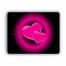 Pink Hearts Computer Mouse Pad For Home And Office Mousepad