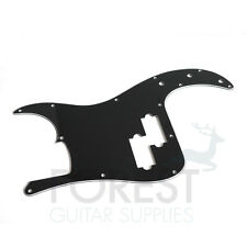 PRECISION BASS Pickguard, Black 3 Ply (B/W/B)  Golpeador