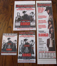 4 Django Unchained Ad clippings- Leonardo DiCaprio, Jamie Foxx, Kerry Washington
