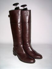 Belle Boots unisa tige-tants-BOTTES CAVALIERS CUIR Cuir Doublure 37 marron top!