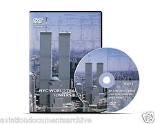 New York World Trade Center Blueprints In DVD- Free Shipping