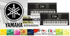 Yamaha PSR S750/S770/S950/S970 Expansion- Styles & Sounds