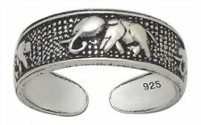 Sterling Silver (925) Adjustable Toe Ring  Elephant Design  !!       New !!