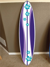wall hanging surf board surfboard decor hawaiian beach surfing teen beach movie