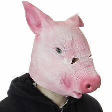 Pig Latex Mask Animal Kingdom Fancy Party Overhead