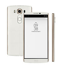 LG V10 H900 64GB RAM 4GB 16MP Android 3G 4G Unlocked Mobile Phone - Luxe White