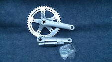 NEW MICHE Crankset 44/39 teeth with BB, 145mm, 116BCD, NOS
