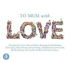 TO MUM WITH LOVE Julie London, Doris Day, Bobby Darin3 CD NEU