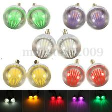 2x Motorcycle Bike Car LED Strobe Flash Flashing Brake Tail Bulbs Lights Lamps