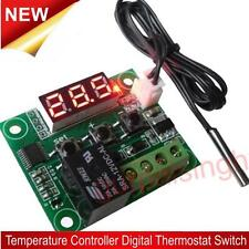 DC12V -50°C Cool 110°C Hot Digital Thermostat Temperature Control On/Off Switch