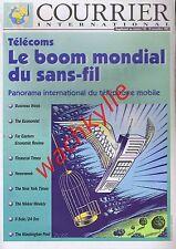 Courrier international 159 18/11/1993 Téléphone portable pub ad Travail Nintendo