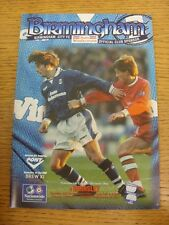 03/12/1996 Birmingham City v Barnsley  (Light Crease). Trusted sellers on ebay b