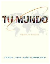 NEW  Tu Mundo by Magdalena Andrade Hardcover Book and Workbook/Study Guide