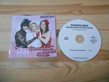 CD Pop Dornrosen - Frauen sind von der Venus (1 Song) Promo UNIVERSAL AMADEO
