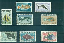 PESCI - FISHES SOMALY FRENCH COST 1959
