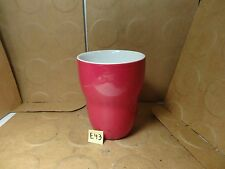 Starbucks Doubled Walled Coffee Mug By aida, Red, 2008 (Used/EUC)