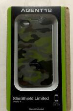 Agnet18 SlimShield Limited Case -Camouflage Green for iPhone 4/4s IPSS4A/M18