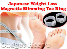 Japanese Weight Loss Magnetic Slimming Toe Ring Works By Increasing Metabolism