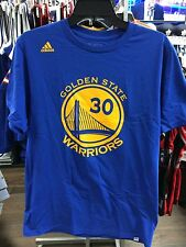 NBA Golden State Warriors Adidas Steph Stephen Curry Name Number T Shirt Medium