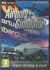 AIRPORT SIMULATOR PC CD-ROM Simulation Game FREE SHIPPING !!!