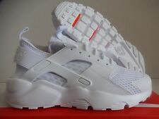NIKE AIR HUARACHE RUN ULTRA BR BREATHE WHITE-WHITE SZ 8.5 [833147-100]