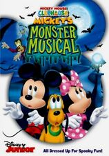 Disney Junior Mickey Mouse Clubhouse Mickey's Monster Musical Kids Halloween DVD
