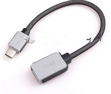 CABLE USB-C 3.1 Tipo C Macho a OTG USB  Datos Cable