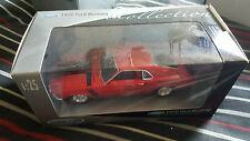 NIB Welly Die Cast w/ Plastic Parts 1970 Ford Mustang Red 1:25 Scale