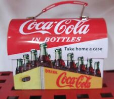 Coca-Cola Workman Carry Tin Lunch Box  - NEW