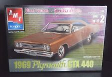 New Sealed ERTL AMT 1969 Plymouth  GTX 440 Street Customs 1:25 Scale Model Kit