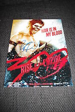 "JACK O´CONNELL signed Autogramm auf ""300: RISE OF AN EMPIRE"" Bild InPerson LOOK"