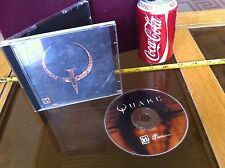 Quake Original Disk PC Game Rare 1996 ID Collectable Game