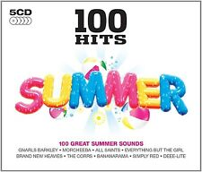 100 HITS-SUMMER 5 CD NEU RAY SUGER/BREAD/CHIC/MATT BIANCO/DJ SAMMY/CORONA