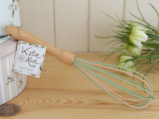 KATIE ALICE Cottage Flower WHISK with Beech Wood Handle and Silicone Head