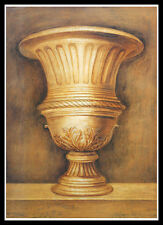 Lewman Zaid Antike Vase Poster Bild Kunstdruck mit Alu Rahmen in schwarz 70x50cm