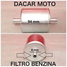 FILTRO GASOLINA 8mm PARA APRILIA BMW CAGIVA DUCATI MOTO GUZZI TRIUMPH