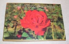 """1997 """"A ROSE COLLECTION"""" 20 blank cards & envelopes in a JC Penny gift box NEW"""
