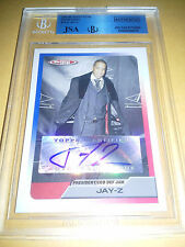 JSA/BGS 2005-06 Topps Total Signatures Jay-Z Certified Auto Autograph Card RARE
