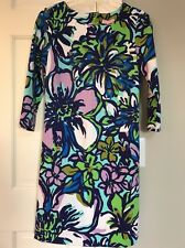 Lilly Pulitzer Charlene Dress Women's Size S Multi Color Spectrum Blue NWT $188