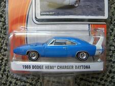 1969 DODGE HEMI CHARGER DAYTONA        2014 GREENLIGHT GL MUSCLE   1:64 DIE-CAST