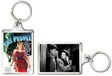 CAT PEOPLE 1942 KEYRING LLAVERO