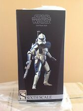 SIDESHOW STAR WARS CAPTAIN REX PHASE II 1/6TH - NEW, UNUSED, MINT