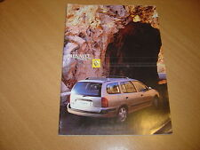 CATALOGUE Renault Megane Break de  2001