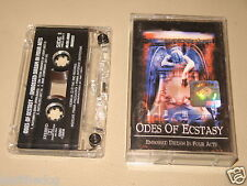 ODES OF ECSTASY Embossed Dream In Four Act Cassette official polish tape '99/583
