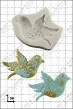 Silicone mould Floral Bird | Food Use FPC Sugarcraft FREE UK shipping!