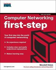 First-Step: Computer Networking First-Step by Wendell Odom (2004, Paperback)